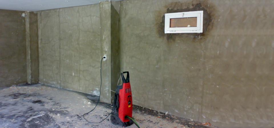 Decapado mediante agua a presión y restauración por Pintura Industrial y Decorativa A. Barranquero