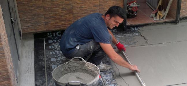 Impermeabilización por humedad con tela asfáltica por Pintura Industrial y Decorativa A. Barranquero  Fuengirola Málaga
