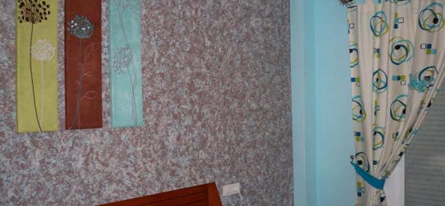 Trapeado – Efecto decorativo con terminación a tres colores por Pintura Industrial y Decorativa A. Barranquero