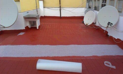 Impermeabilización por pintura industrial