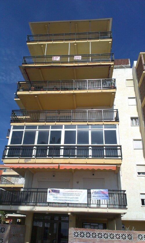 Próximo proyecto restauración de fachada en EDF.Flamingo