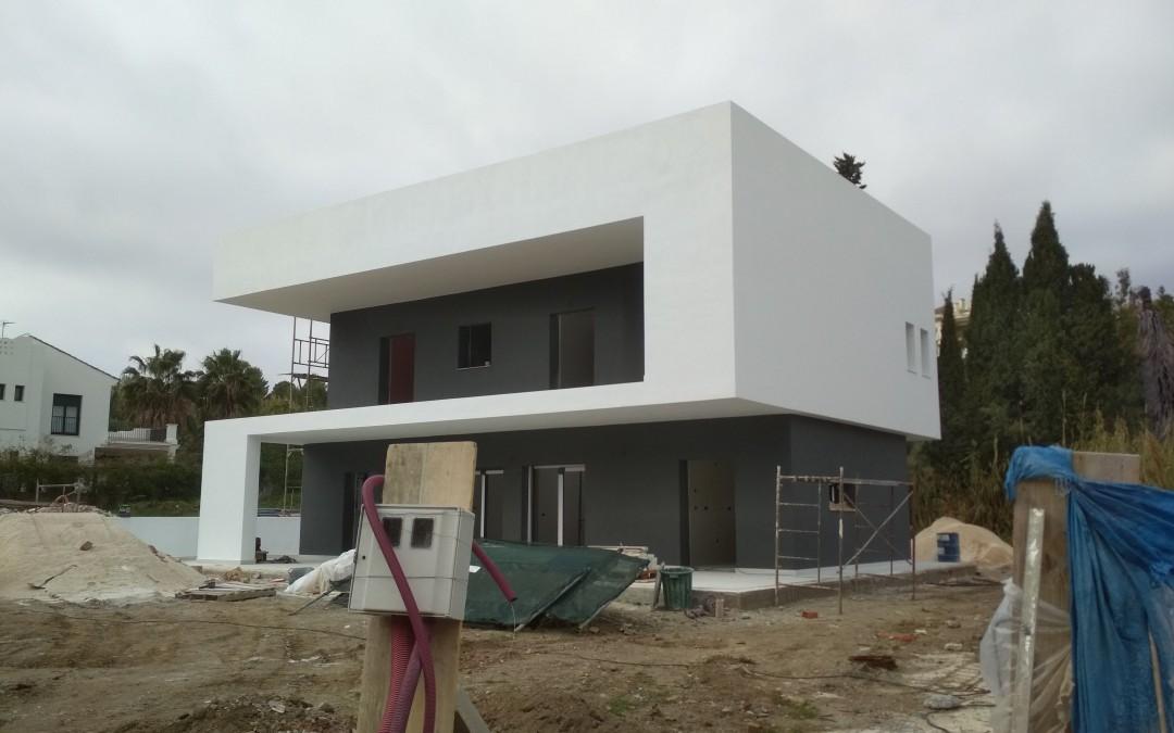Trabajos de pintura interior y exterior en Estepona por pinturas a.barranquero